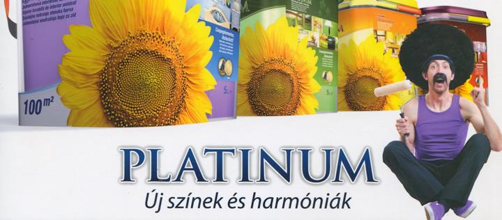 Poli-Farbe Platinum, egyrétegű beltéri festék